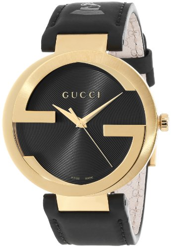 Gucci Gucci Men's YA133208 Interlocking GRAMMY Special Edition Black Watch