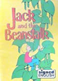 img - for Jack and the Beanstalk Adapted By Michelle A. Herx (In Signed English) 1986 Paperback book / textbook / text book