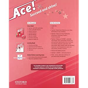 Pack Ace! 1. Class Book And Songs (+ CD)