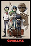 All Here Gorillaz Poster 61x91.5cm