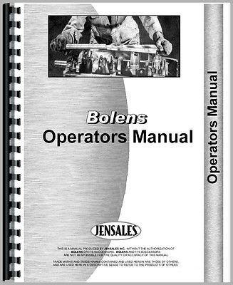 New Bolens 1886 Lawn & Garden Tractor Operators Manual