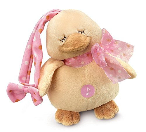 Russ Berrie Diddy Duck Musical Door Hanger/Crib Buddy, Pink (Discontinued by Manufacturer) - 1