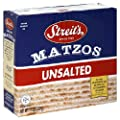 Streits Matzo, Unsalted, 11-Ounce Box (Pack of 8) from Streit's