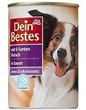 Dein Bestes Hund 5 Sorten Fleisch, 12er Pack (12 x 400 g)
