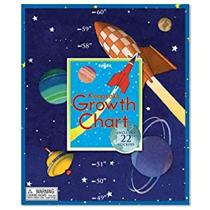 Eeboo Space Growth Chart from Eeboo
