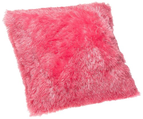 """Brentwood Hollywood 18"""" Knife Edge Pillow, Pink"""