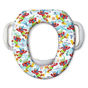 Sesame Street Soft Potty Seat - Scuba Elmo