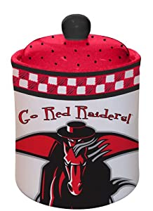 Texas Tech Gameday Cookie Jar
