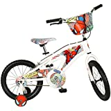 Street Flyers Amazing Spiderman Bike, White, 16-Inch