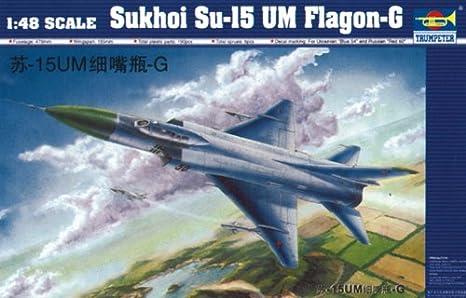 Maquette Sukhoi Su-15 UM Flagon-G