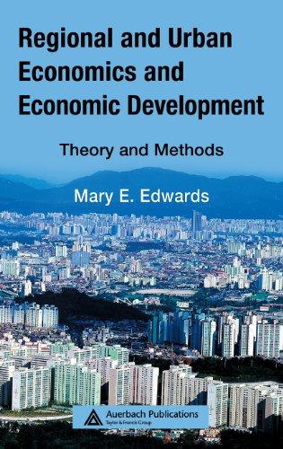 Regional and Urban Economics and Economic Development:...