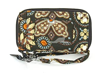 Vera Bradley All in One Wristlet in Canyon