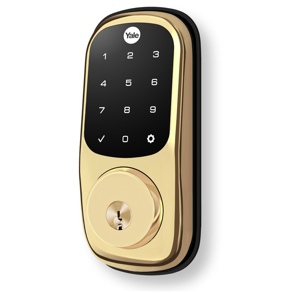 Yale Zigbee Touchscreen Electronic Deadbolt Works With