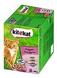 Kitekat Katzenfutter Markt-Mix in Gelee, 48 Beutel (2 x 24 x...