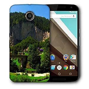 Snoogg Trees On Rock Head Designer Protective Phone Back Case Cover For Motorola Nexus 6