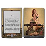 Diabloskinz Vinyl Adhesive Skin Decal Sticker for Amazon Kindle - Pin Up Kelly