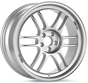 Enkei RPF1- Racing Series Wheel, Silver (17×8.5″ – 5×114.3/5×4.5, 30mm Offset) One Wheel/Rim