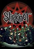 Slipknot - Below Pentagram In Circle Flagge