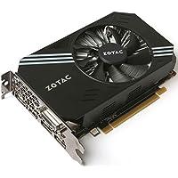 Zotac GTX1060 Mini - PCI-Express Graphics Card (6GB GDDR5, CUDA cores 1280, 192-bit, Base: 1506 MHz Boost:1708 MHz, ICE Storm Cooling, VR Ready)