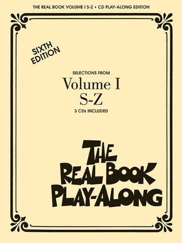 Real Book Vol. 1 S-Z Play-Along Cds Book & 3Cds