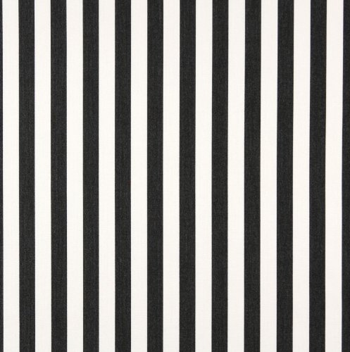 "54"" B489 Black, Striped Indoor Outdoor Marine Scotchgard Upholstery Fabric By The Yard front-12897"