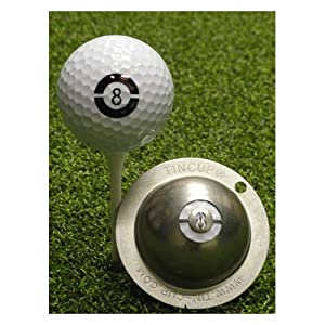 Tin Cup Golf Ball Custom Marker Tool - 8 Ball by Tin Cup