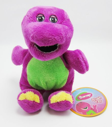 Barney Plush Soft Toy - Premium Collector'S Edition (6.5 Inch) front-208938