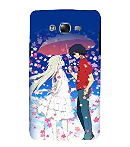 printtech Anime Love Couple Back Case Cover for Samsung Galaxy Grand Prime G530h