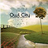 All Things Bright And Beautiful by Owl City [Music CD]