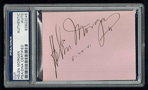 helen-morgan-d-1941-signed-autograph-auto-25x35-cut-show-boat-psa-slabbed