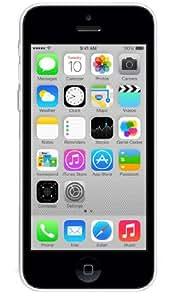 Apple iPhone 5C Smartphone débloqué 4G (4 pouces - 32 Go - iOS 7) Blanc (Import Europe)