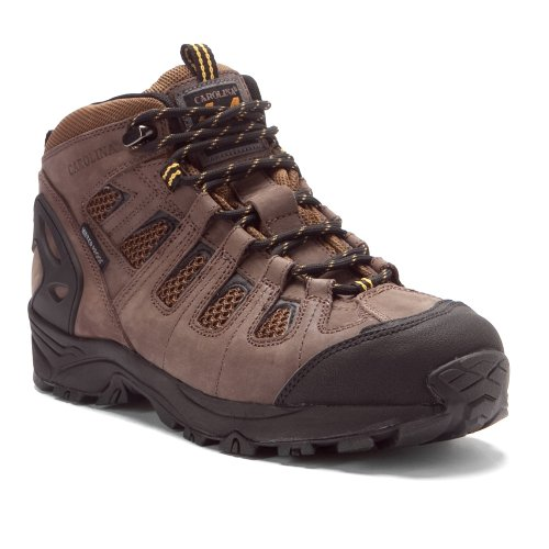 Carolina Men'S 6 Inch 4X4 Wp Eh Carbon Composite Fiber Toe Hiker Dr Brown Lthr/Brown Mesh 10.5 2E Us