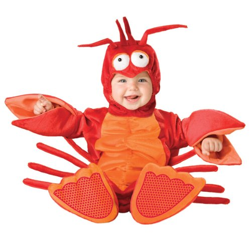 Lil Characters Unisex-baby Infant Lobster Costume,