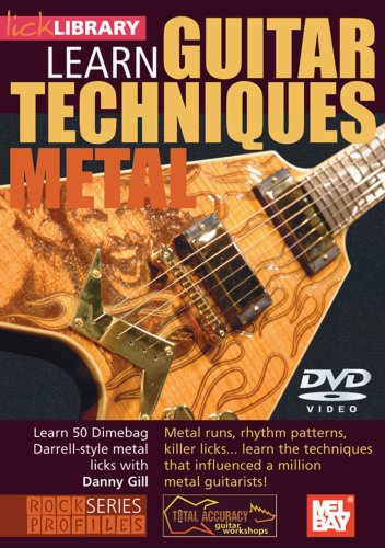 Dimebag Darrel Guitar Techniques [DVD] [NTSC]