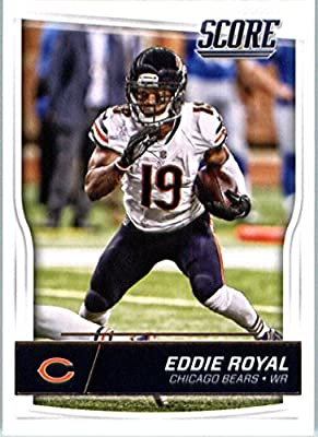 2016 Score #61 Eddie Royal Chicago Bears Football Card