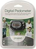 Oregon Scientific PE320 Digital Pedometer with Distance Calculator, Black