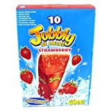 Calypso Jubbly Ice Lollies Strawberry 8 Pack 620g