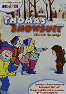 Thomas 39 snowsuit a bunch of munsch movies tv for Thomas snowsuit coloring page