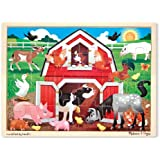 Melissa & Doug Barnyard Jigsaw (24 Pieces)
