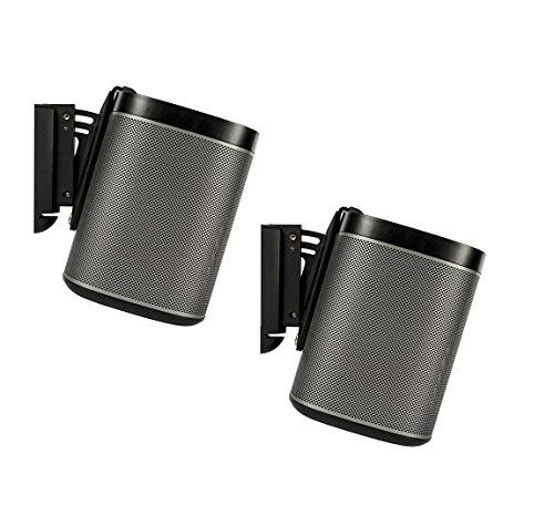 flexson-tilt-and-swivel-wall-mount-bracket-for-sonos-play1-black-pack-of-2