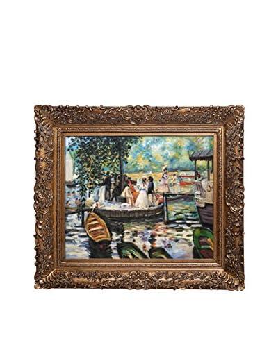 Pierre Auguste Renoir La Grenouillere (The Frog Pond) Oil Painting