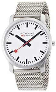 Mondaine Men's A672.30350.16SBM Simply Elegant Steel Band Watch