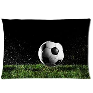 Amazon.com - cool soccer ball art Pillow Cushion Case Throw Pillow Covers Pillow Soft Bedding ...