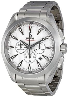 Omega Men's 231.10.44.50.04.001Aqua Terra White Dial Watch