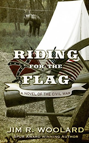 Riding for the Flag (Thorndike Large Print Western Series)
