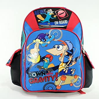 16 Phineas and Ferb Backpack-Tote-Bag