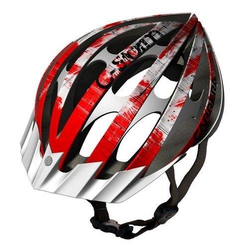 carrera-c-storm-2-mtb-helmet-rojo-y-blanco-size58-61cm