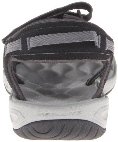 Columbia Women's Suntech Vent Sandal,Black/Platinum,8 M US