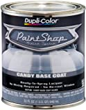 Dupli-Color (BSP306-2 PK) 'Paint Shop' Candy Silver Base Coat Finish System Candy Base Coat - 1 Quart, (Case of 2)