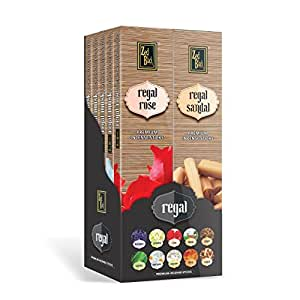 Zed Black Regal Premium Incense Sticks - 10 Boxes Inside, Long Lasting Refreshing And Alluring Fragrance Incense Sticks